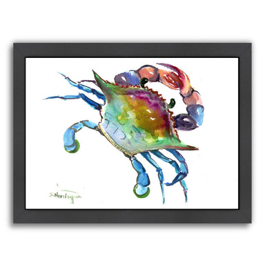Crab by Suren Nersisyan Framed Print - Wall Art - Americanflat
