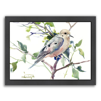 Mourning Dove by Suren Nersisyan Framed Print - Wall Art - Americanflat