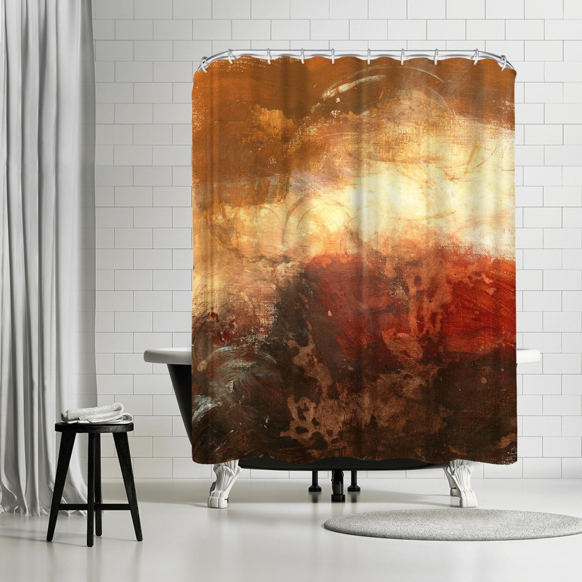 Autumn Warmth by Destiny Womack Shower Curtain - Shower Curtain - Americanflat