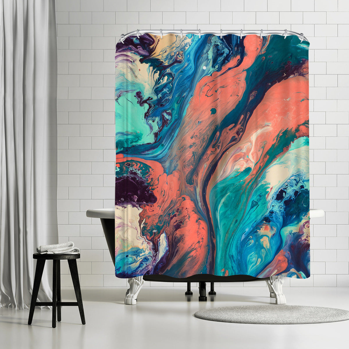 Drifting Away by Destiny Womack Shower Curtain -  - Americanflat