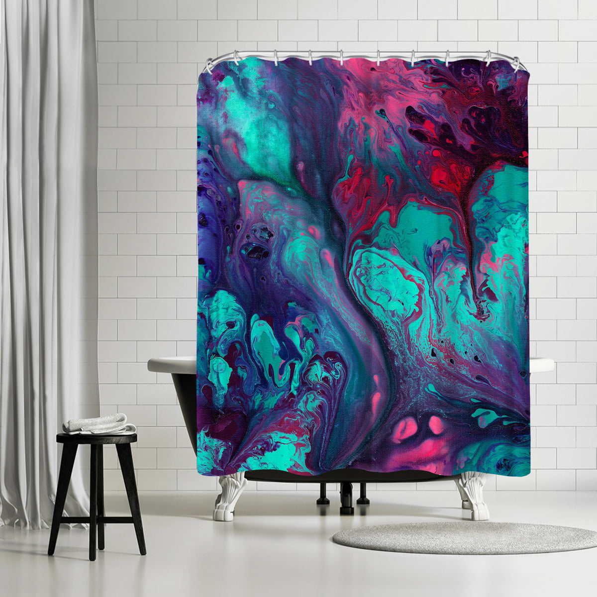 Enchantment by Destiny Womack Shower Curtain -  - Americanflat