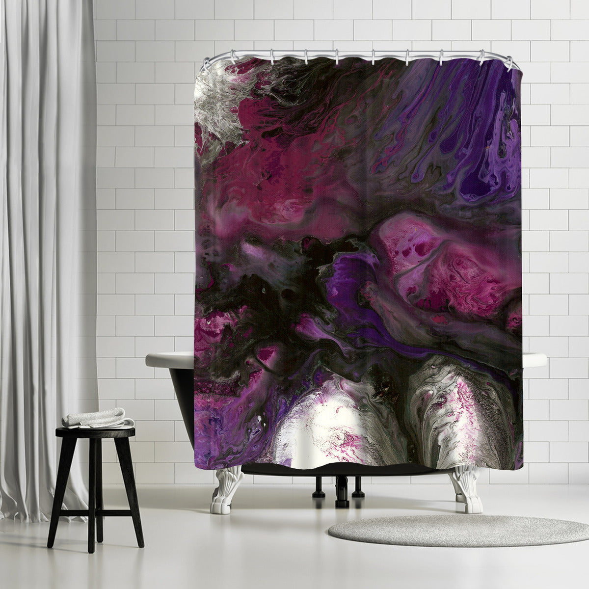 Passion by Destiny Womack Shower Curtain -  - Americanflat