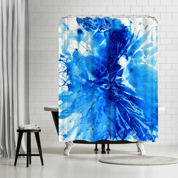 Shattered by Destiny Womack Shower Curtain
