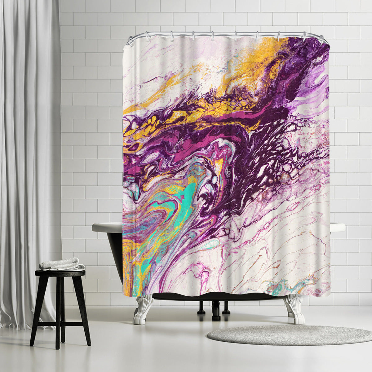 The Way to Heaven by Destiny Womack Shower Curtain - Shower Curtain - Americanflat