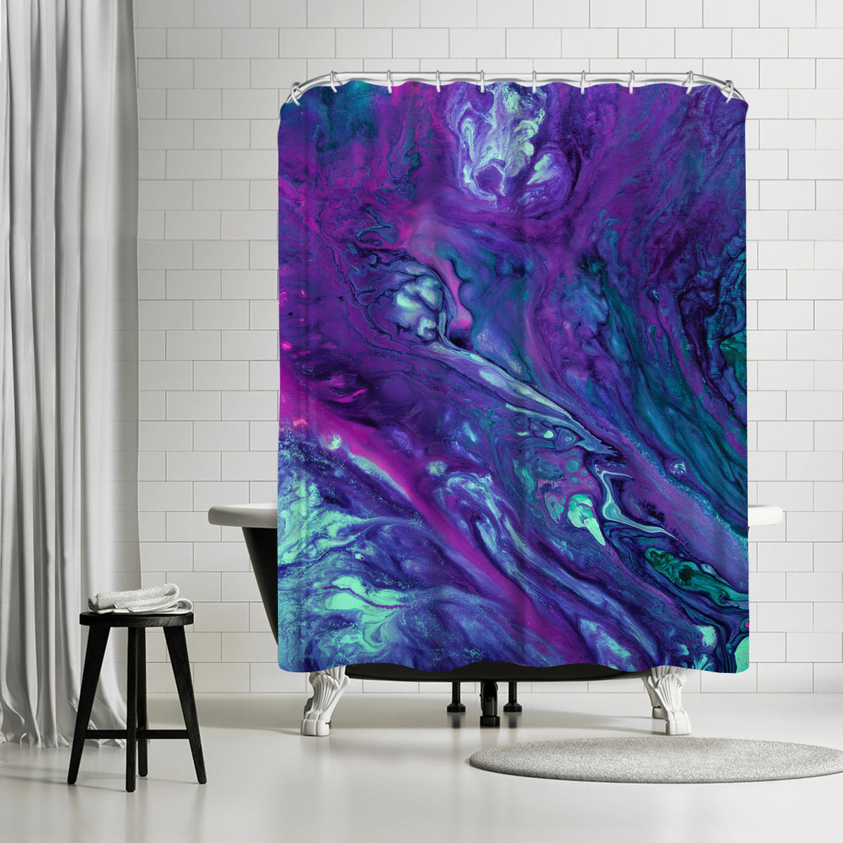 Wishing Well by Destiny Womack Shower Curtain -  - Americanflat