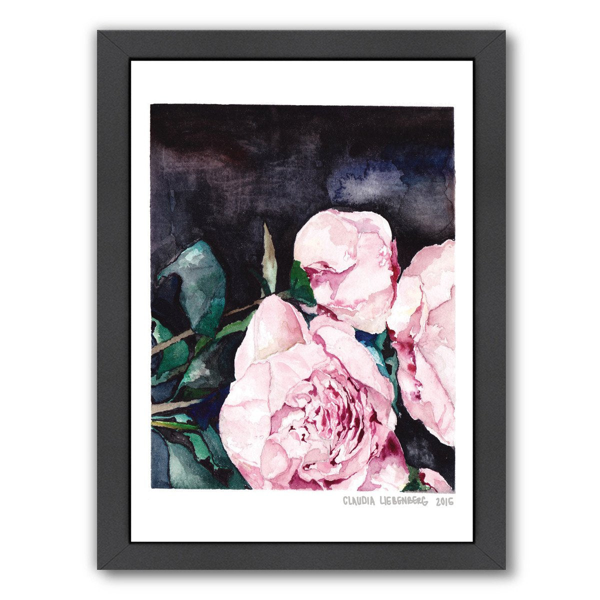 Blooms On 1 by Claudia Liebenberg Framed Print - Wall Art - Americanflat