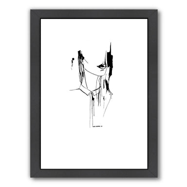 Inked 1 by Claudia Liebenberg Framed Print - Americanflat