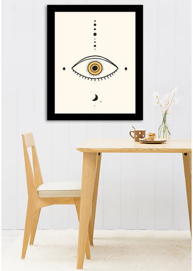Universe Eye Ii By Florent Bodart - Black Framed Print - Wall Art - Americanflat