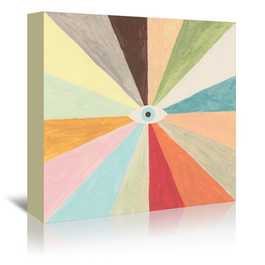 Big Brother Colors by Florent Bodart - Wrapped Canvas - Wrapped Canvas - Americanflat
