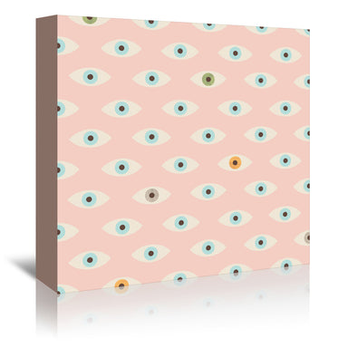 Thousand Eyes by Florent Bodart - Wrapped Canvas - Wrapped Canvas - Americanflat