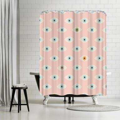 Thousand Eyes by  Florent Bodart Shower Curtain - Shower Curtain - Americanflat