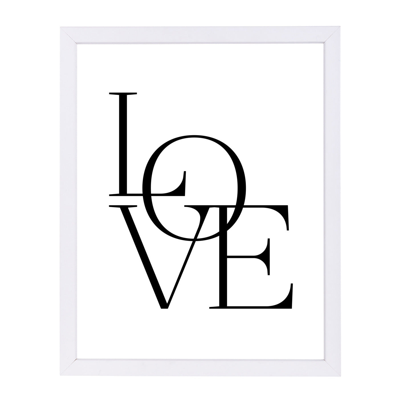 Modern Love by Amy Brinkman Framed Print - Wall Art - Americanflat
