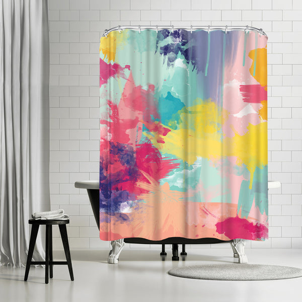 Bomb Pop by Amy Brinkman Shower Curtain