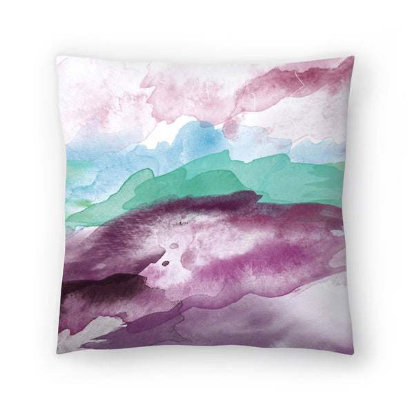 High Tide Blue Green by Amy Brinkman Decorative Pillow