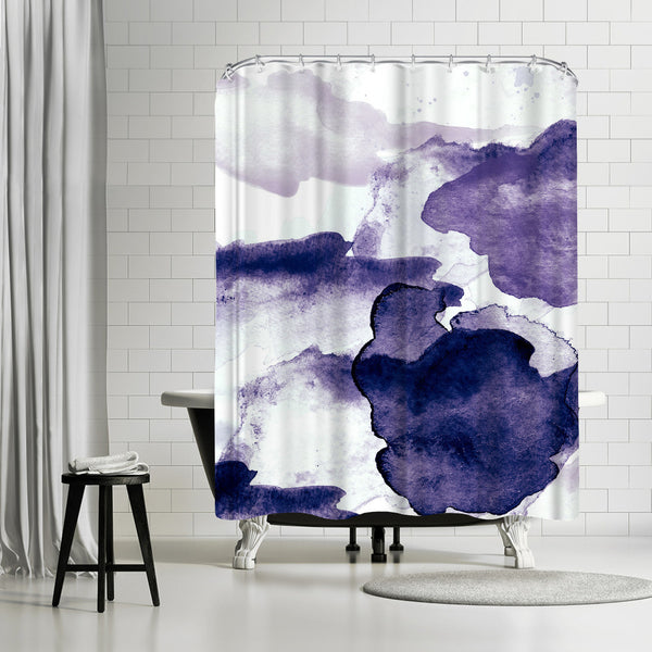 I Dream Purple by Amy Brinkman Shower Curtain