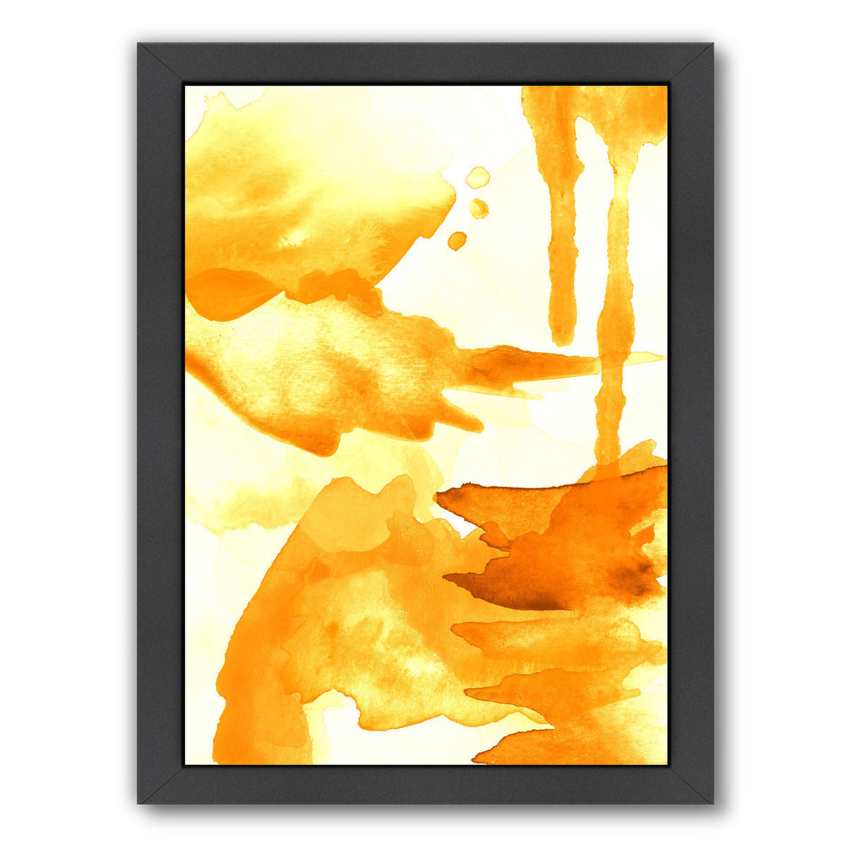 Spring Light Yellow by Amy Brinkman Framed Print - Wall Art - Americanflat