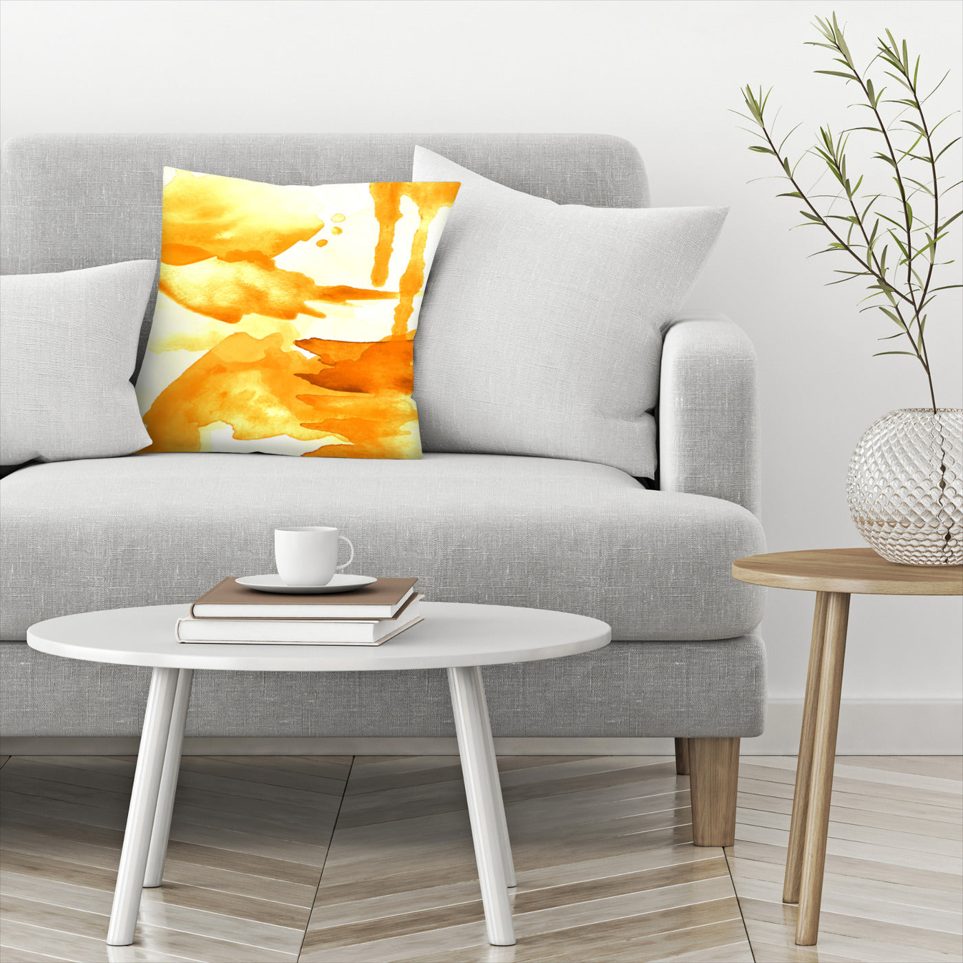 Spring Light Yellow by Amy Brinkman Decorative Pillow - Decorative Pillow - Americanflat