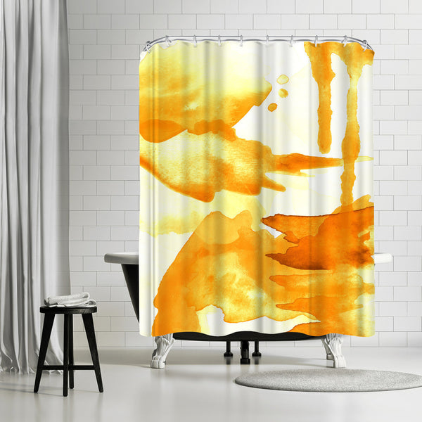 Spring Light Yellow by Amy Brinkman Shower Curtain