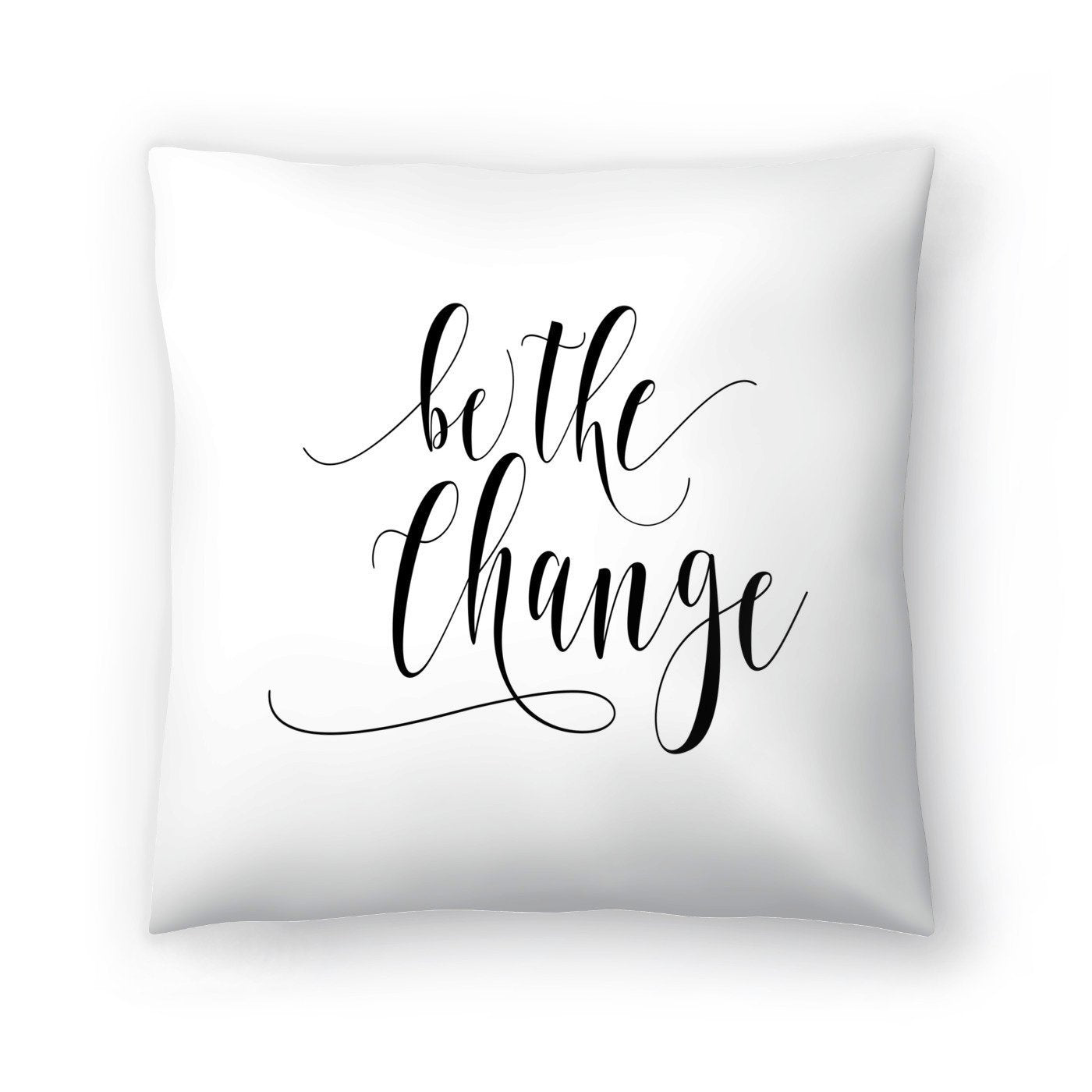 Be The Change by Amy Brinkman Decorative Pillow - Decorative Pillow - Americanflat