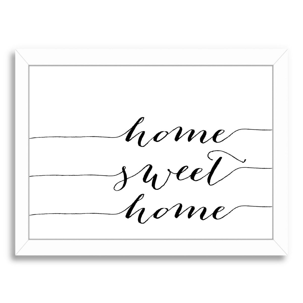 Home Sweet Home by Amy Brinkman Framed Print - Wall Art - Americanflat