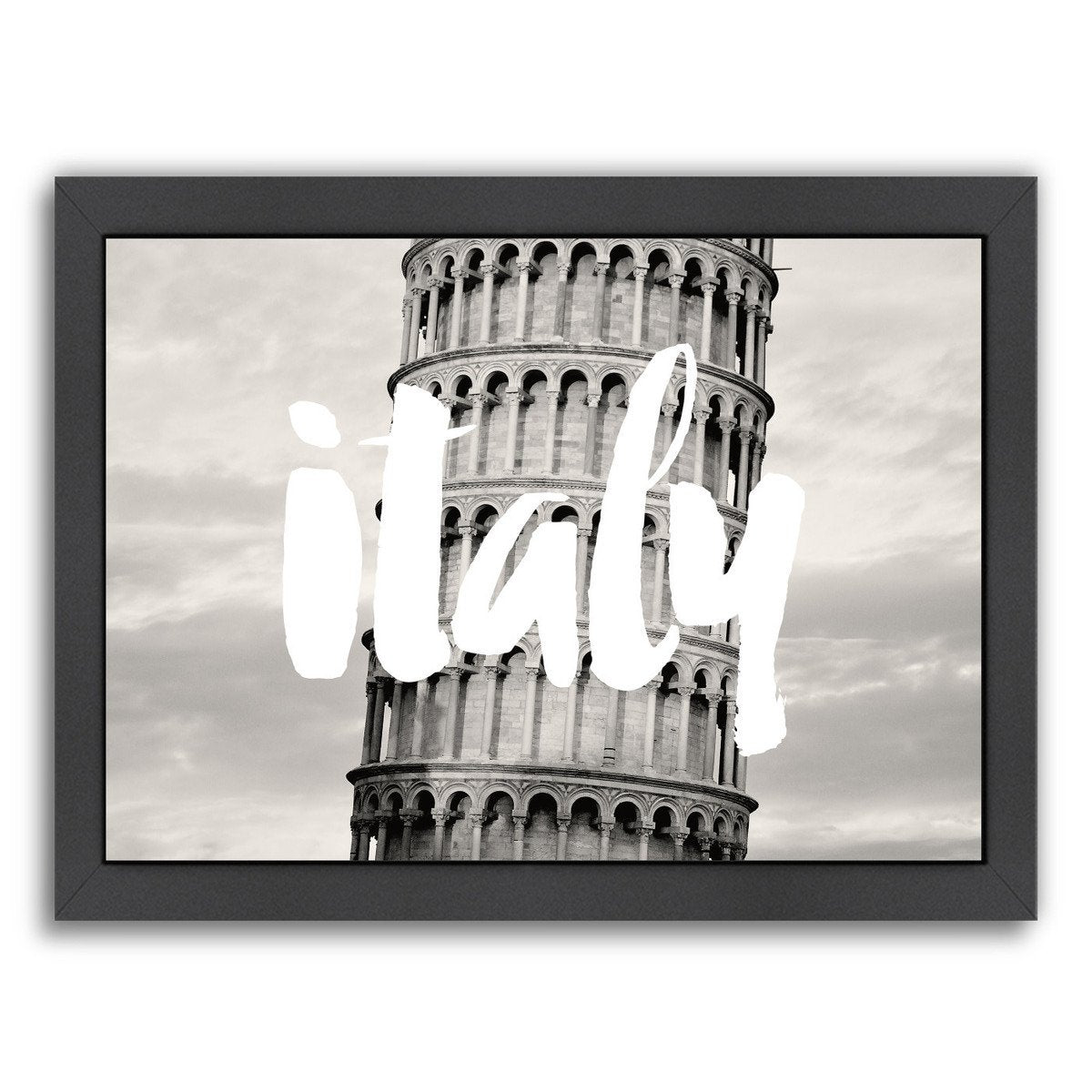 Italy White by Amy Brinkman Framed Print - Wall Art - Americanflat