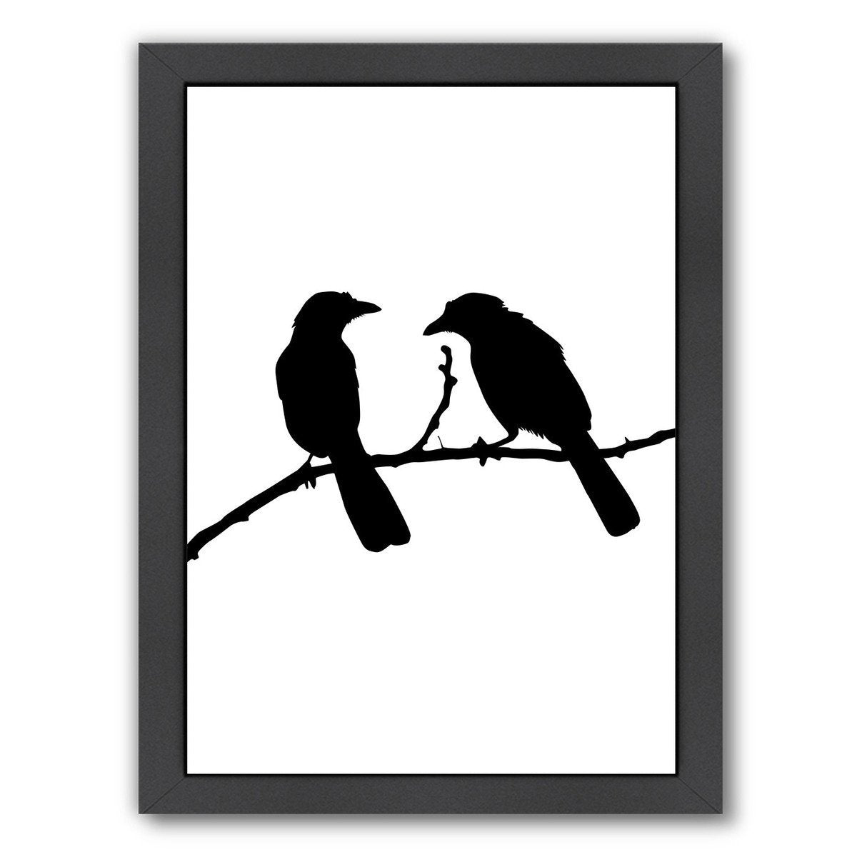 Black Bird by Jetty Printables Framed Print - Wall Art - Americanflat