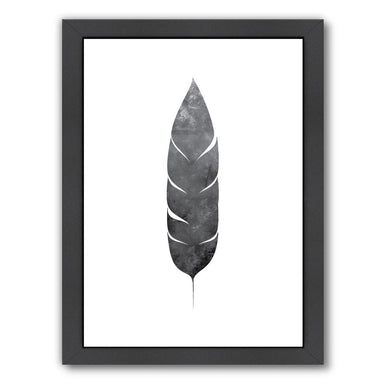 Black Feather by Jetty Printables Framed Print - Wall Art - Americanflat
