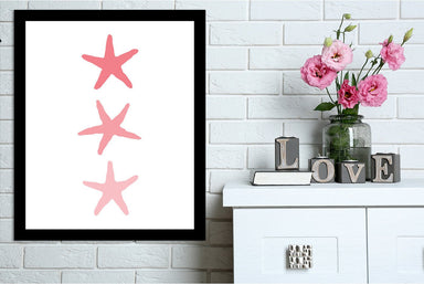 Coral Starfish 3 by Jetty Printables Framed Print - Wall Art - Americanflat