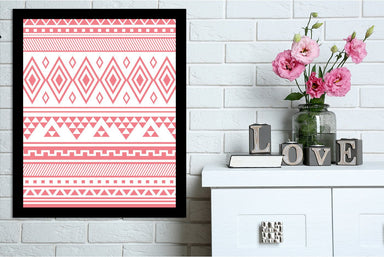 Coral Tribal by Jetty Printables Framed Print - Wall Art - Americanflat