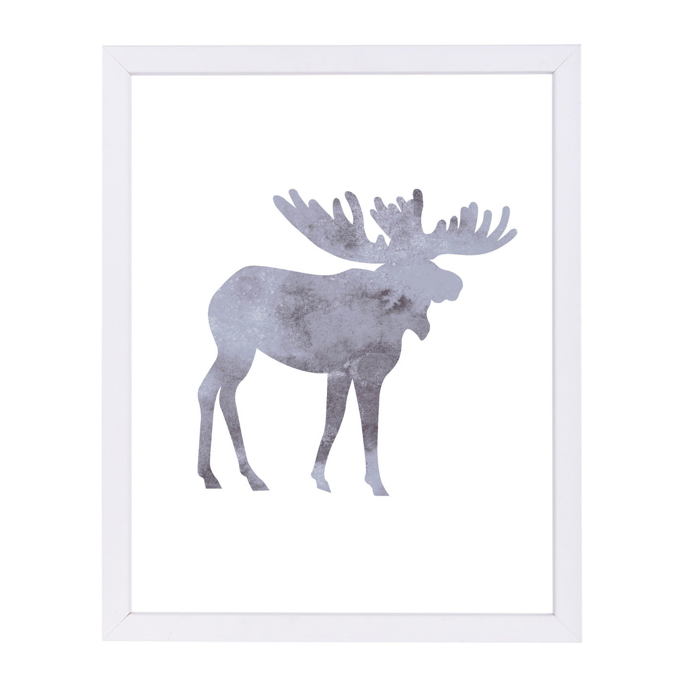 Watercolor Grey Moos by Jetty Printables Framed Print - Wall Art - Americanflat