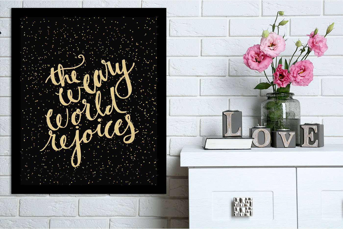 Weary World by Jetty Printables Framed Print - Americanflat