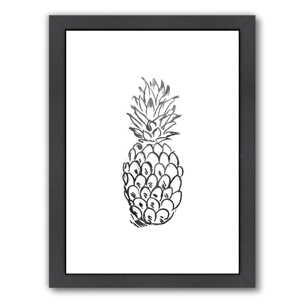 Faded Pineapple  by Jetty Printables Framed Print - Americanflat