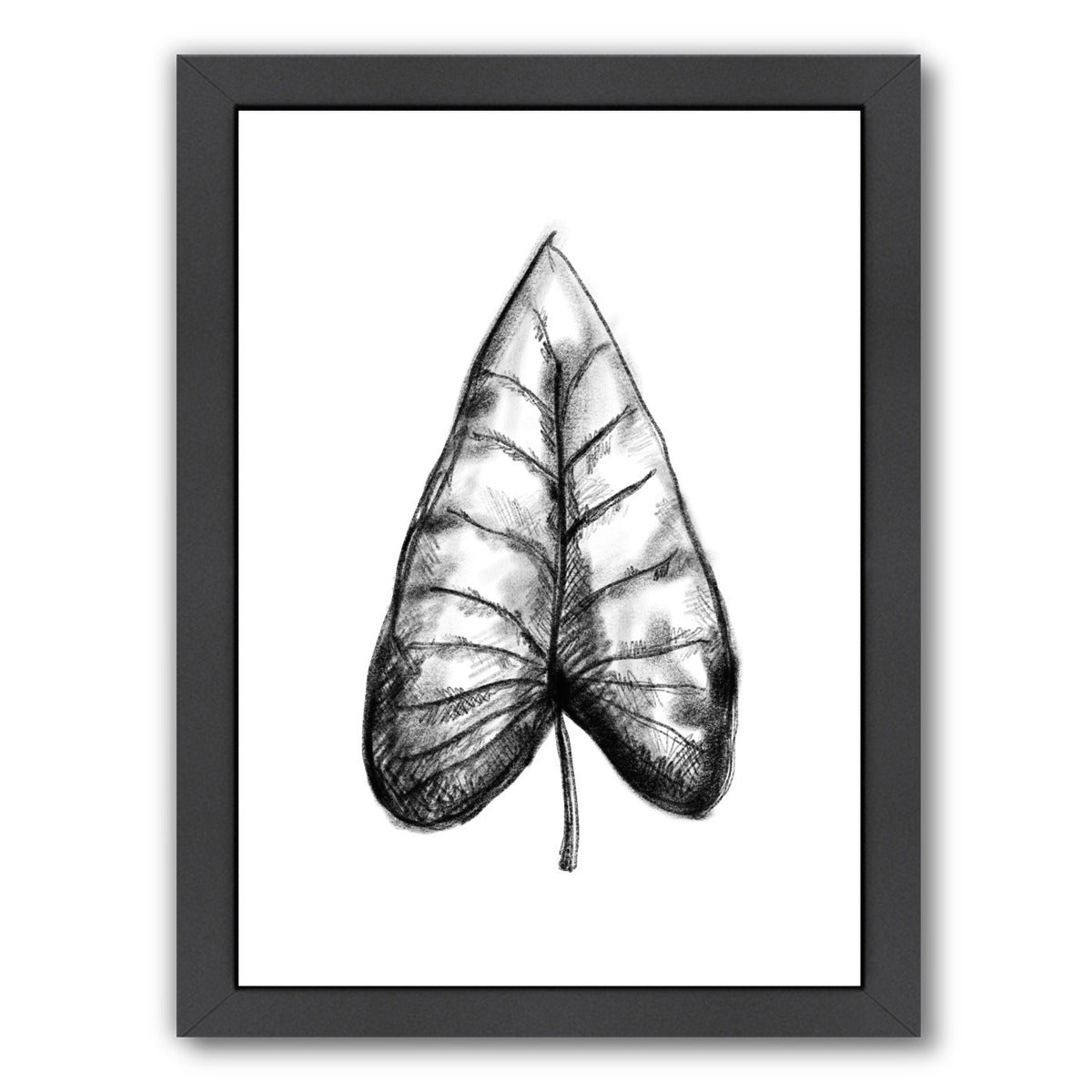 Palm Leaf Illustration by Jetty Printables Framed Print - Wall Art - Americanflat