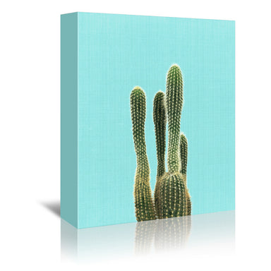 Colorful Cactus Wrapped Canvas Gallery Wall Set - Wrapped Canvas - Americanflat