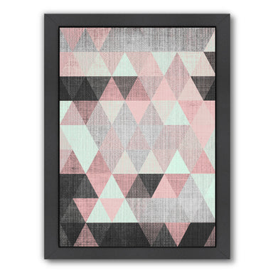 Geometric Small by LILA + LOLA Black Framed Print - Wall Art - Americanflat