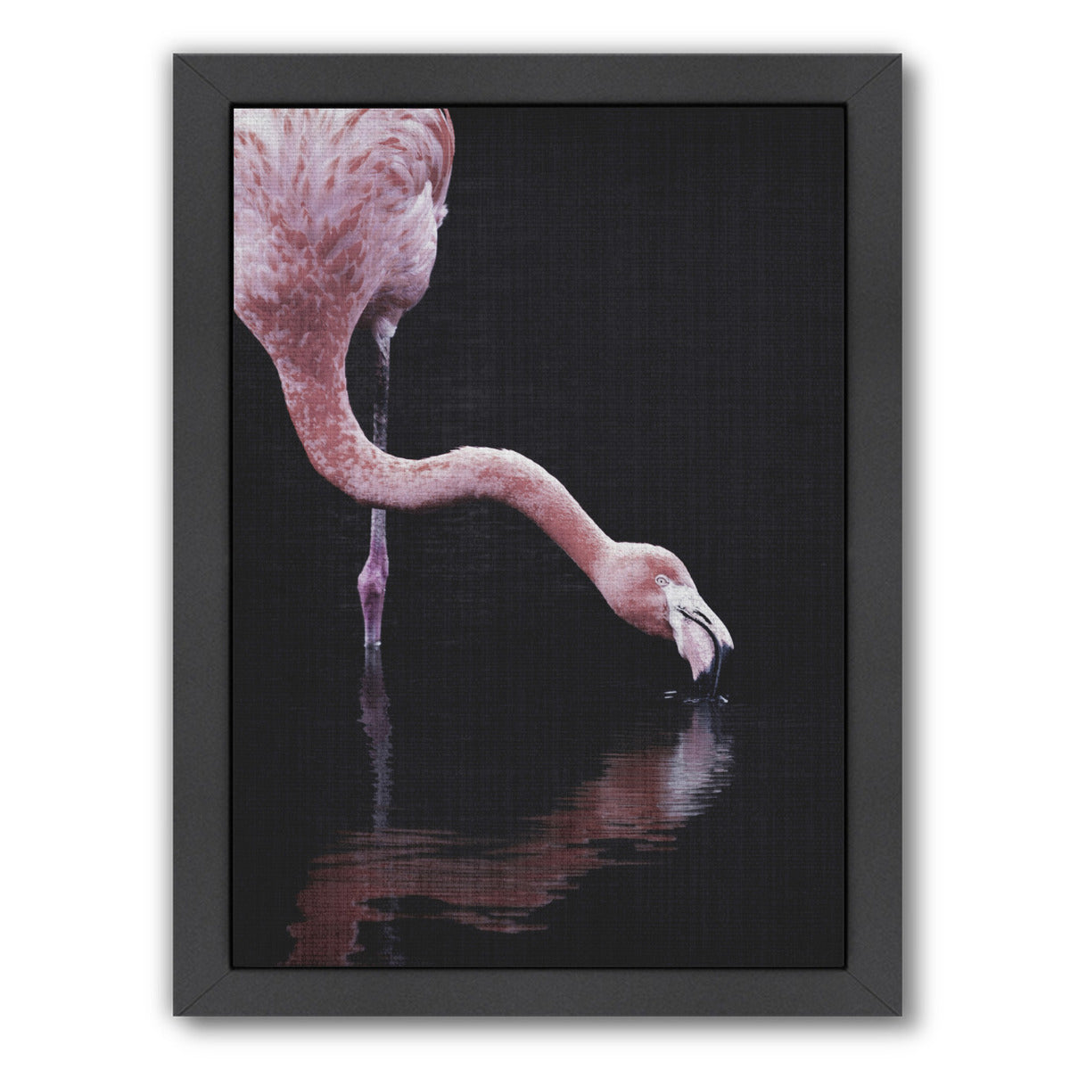 Tropical Flamingo by LILA + LOLA Framed Print - Wall Art - Americanflat