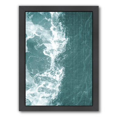 Tropical Waters by LILA + LOLA Black Framed Print - Wall Art - Americanflat