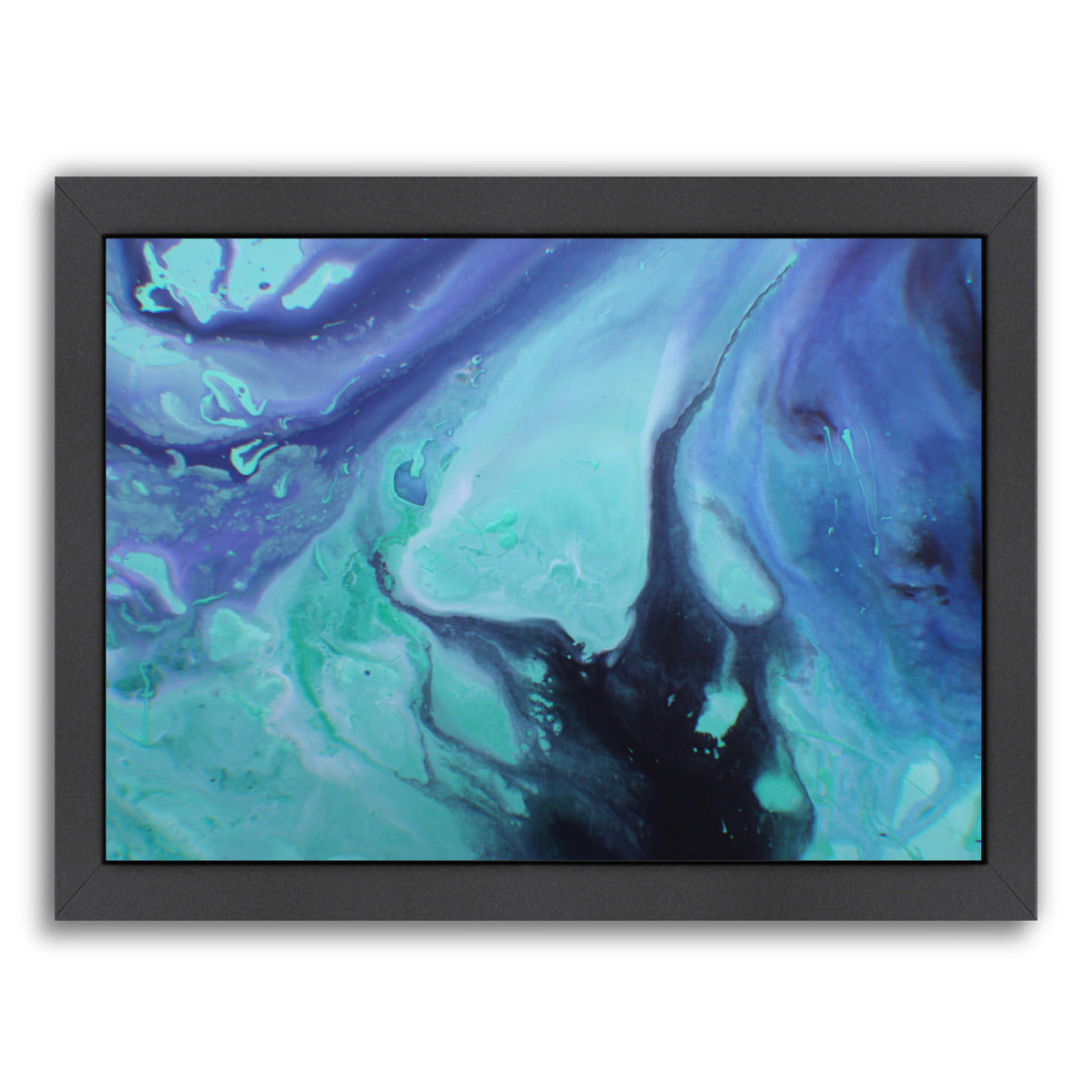 Dark Marble by Deb McNaughton Framed Print - Wall Art - Americanflat