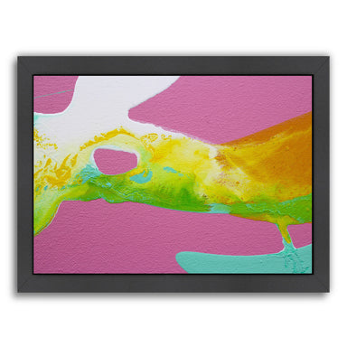 Smooth Yellow by Deb McNaughton Framed Print - Wall Art - Americanflat