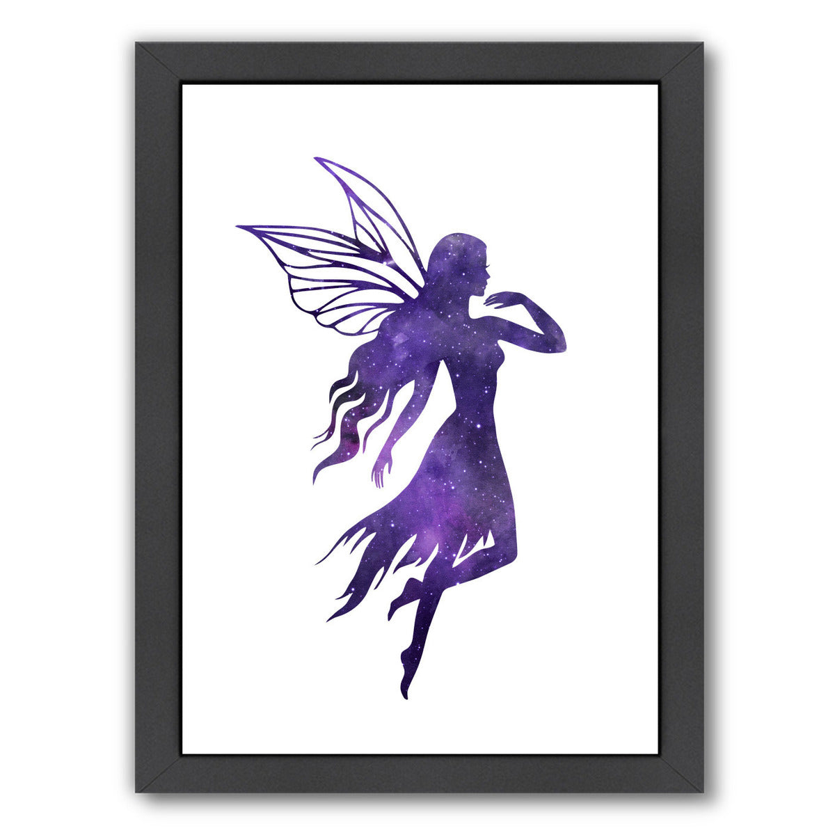 Cosmic Fairy by Peach & Gold Framed Print - Americanflat
