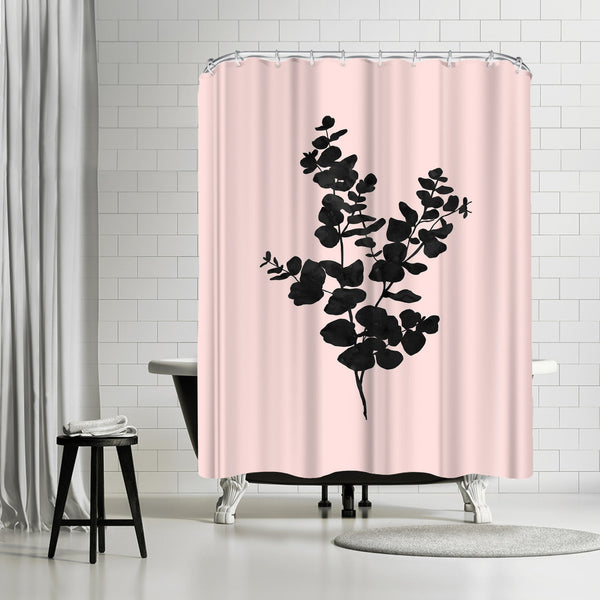 Pastel Branch by Peach & Gold Shower Curtain