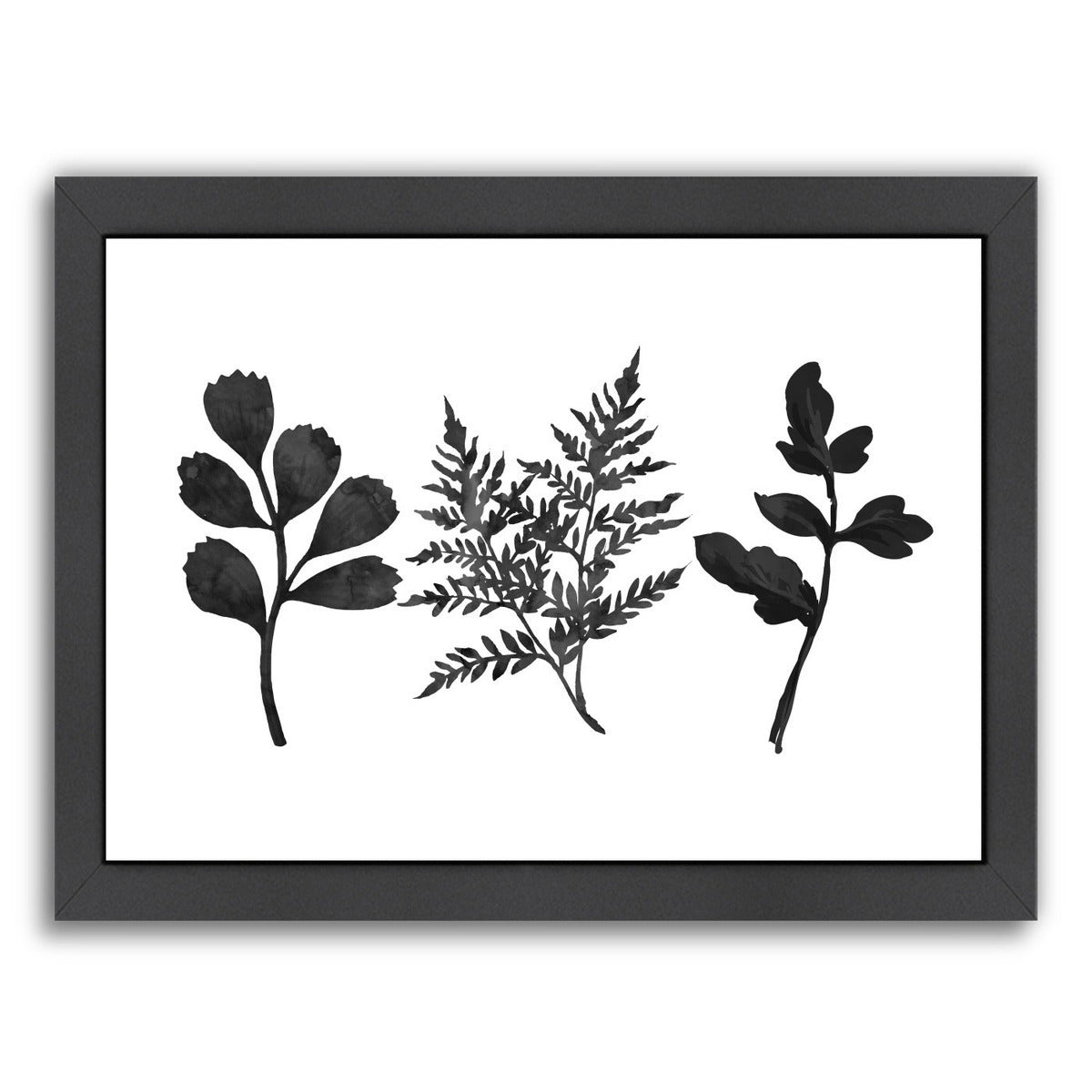 Tree Ferns by Peach & Gold Framed Print - Wall Art - Americanflat