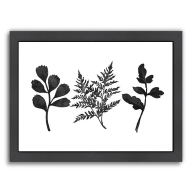 Tree Ferns by Peach & Gold Framed Print - Americanflat