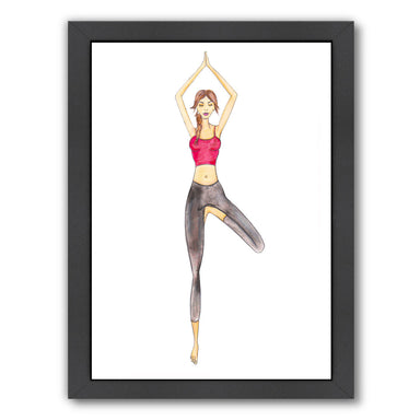 Yoga by Alison B Framed Print - Wall Art - Americanflat