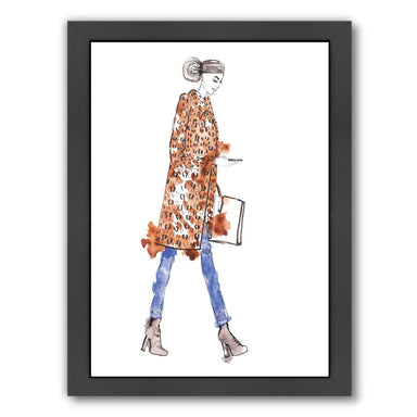 Fall Fur by Alison B Framed Print - Wall Art - Americanflat