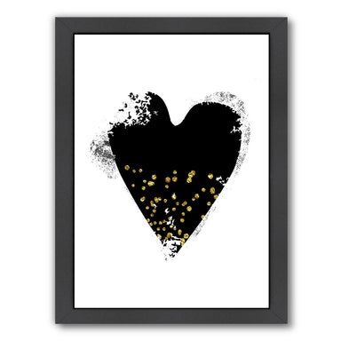 Heart 6 by Ikonolexi Framed Print - Americanflat