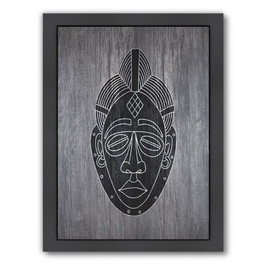 African Mask by Ikonolexi Framed Print - Americanflat