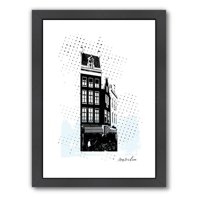 Amsterdam by Ikonolexi Framed Print - Americanflat