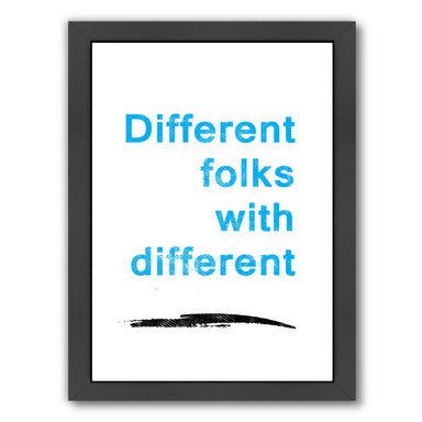 Diversity Quote by Ikonolexi Framed Print - Americanflat