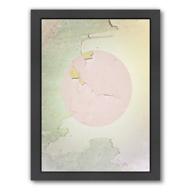 Pink Abstract by Ikonolexi Framed Print - Americanflat